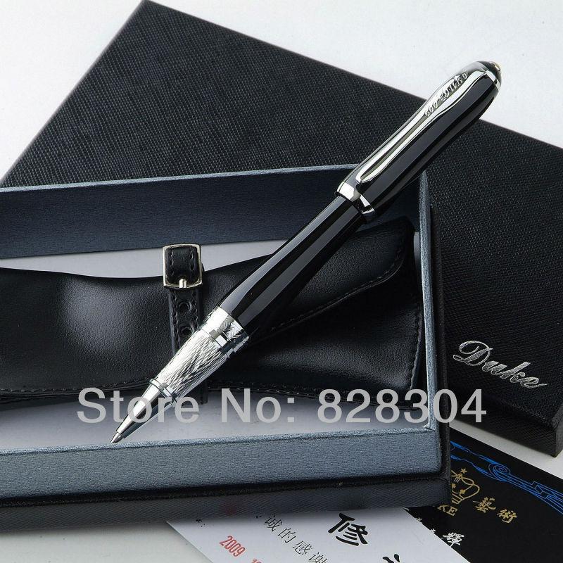 DUKE LADY SERIES Black roller pen holster Office writing gift pen not the original box FREE SHIPPING atinuke anna hibiscus song