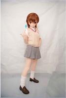 Can Custon Eyes/Hair Handmade Female Silicone Rubber Face Masks Cosplay Mask Crossdresser Doll Kigurumi Anime Role Play