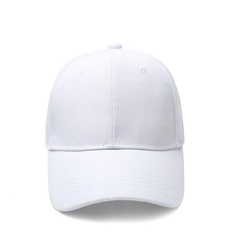 4e7563f6 Red Baseball Cap Women Men Snapback Nylon Fastener Tape Hat Summer Autumn  Adjustable Dad Caps Female Solid Baseball Cap 2018