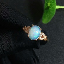 shilovem 925 sterling silver real Natural opal Rings fine Jewelry women trendy wedding open new Christmas gift xkj0709022ago shilovem 925 sterling silver natural opal rings fine jewelry women trendy wedding open new wholesale gift mj0810111ago
