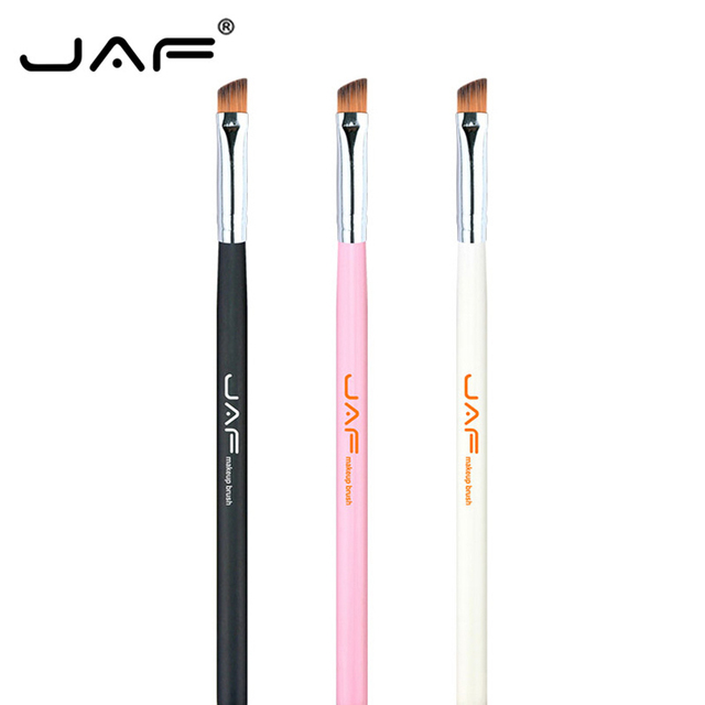 JAF Brand maquillaje profesional cepillo 3 colores pelo sintético pincel de maquillaje cepillo de maquillaje estándar ceja sombra Eyeliner cepillos