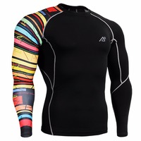 Life on track Technical Compression Shirt Workout Gym MMA Fitness Crossfit CP B33