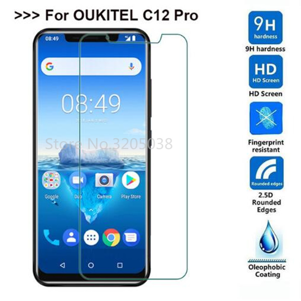2PCS Oukitel C12 Pro Tempered Glass For Oukitel C12 Pro Screen Protector 9H Explosion-proof LCD Film For Oukitel C12 Pro2PCS Oukitel C12 Pro Tempered Glass For Oukitel C12 Pro Screen Protector 9H Explosion-proof LCD Film For Oukitel C12 Pro