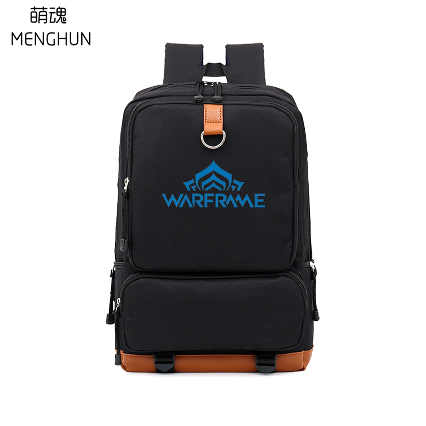 New online game concept backpack WARFRAME backpacks game fans daily use high capacity big bags nylon backpacks NB247