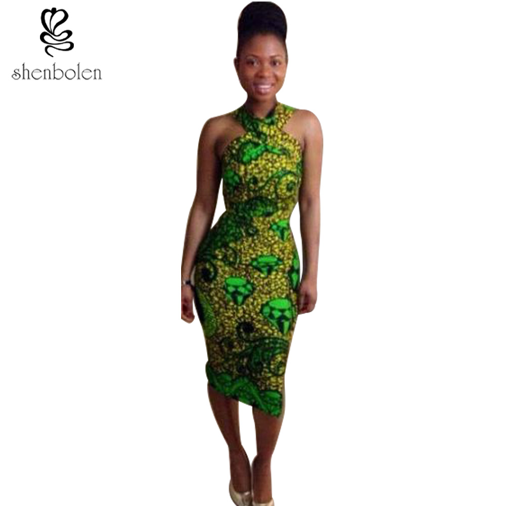 2017 summer african dresses for women sexy sheath sleeveless ankara 2017 summer african dresses for women sexy sheath sleeveless ankara wax batik print pure cotton beautiful dress free shipping in dresses from womens ombrellifo Images