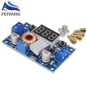 Image 2 - 1 Chiếc XL4015 5A Cao Công Suất 75W DC DC Điều Chỉnh Bước Xuống Mô Đun + Vôn Kế LED Module Nguồn