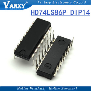 Image 4 - 10PCS HD74LS86P DIP14 HD74LS86 DIP SN74LS86N DIP 14 74LS86 SN74LS86AN new and original IC