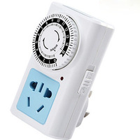 Charging Timer Protection 15 Hours Mechanical Countdown Timer Switch Socket 10A220V