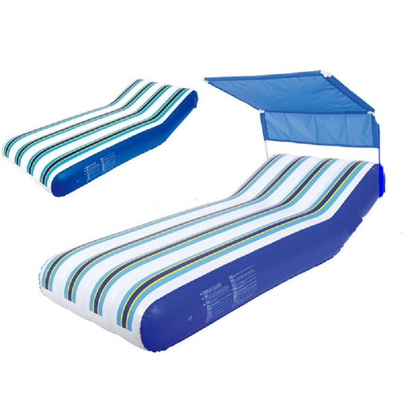 Matelas gonflable d'été matelas à eau matelas de natation lit de natation lit flottant eau chaise flottante île gonflable