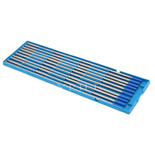10x Silver and Blue Tig 2% Lanthanated welding Tungsten Electrodes 175mm x3.2mm