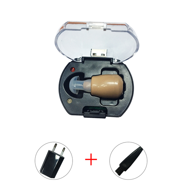 NEW Rechargeable audiphone Mini Hearing Aid Hearing Amplifier Ear Sound Amplifier Hearing Aids Rechargeable Hearing aid 4