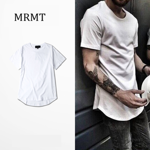 2018 New MRMT Extended pastel PINK PINK render multicolor arc hem GD east gate with joker short-sleeved t-shirts for men