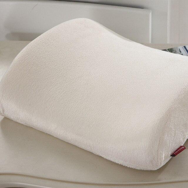 Gentil Memory Foam Waist Cushion Office Nap Rest Chair Back Cushion Waist Pillow  Car Memory Foam Cushion