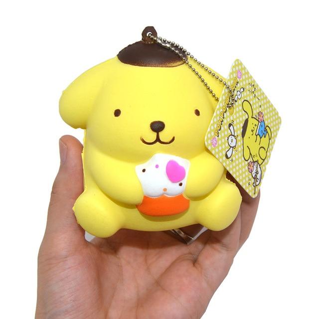 Kawaii Tubers Squishy Tag : Aliexpress.com : Buy 1PCS Pudding Dog Squishy Japan Mascot Kawaii Cake Scented Slow Rising ...