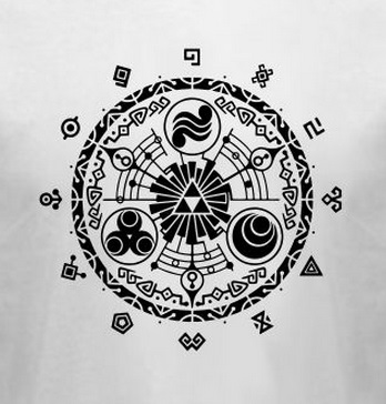 New Arrival Mens T Shirt Hyrule Historia The Legend Of Zelda Logo Door Time Fashion Tshirt Cotton O Neck Tee Plus Size S 3XL In Shirts From