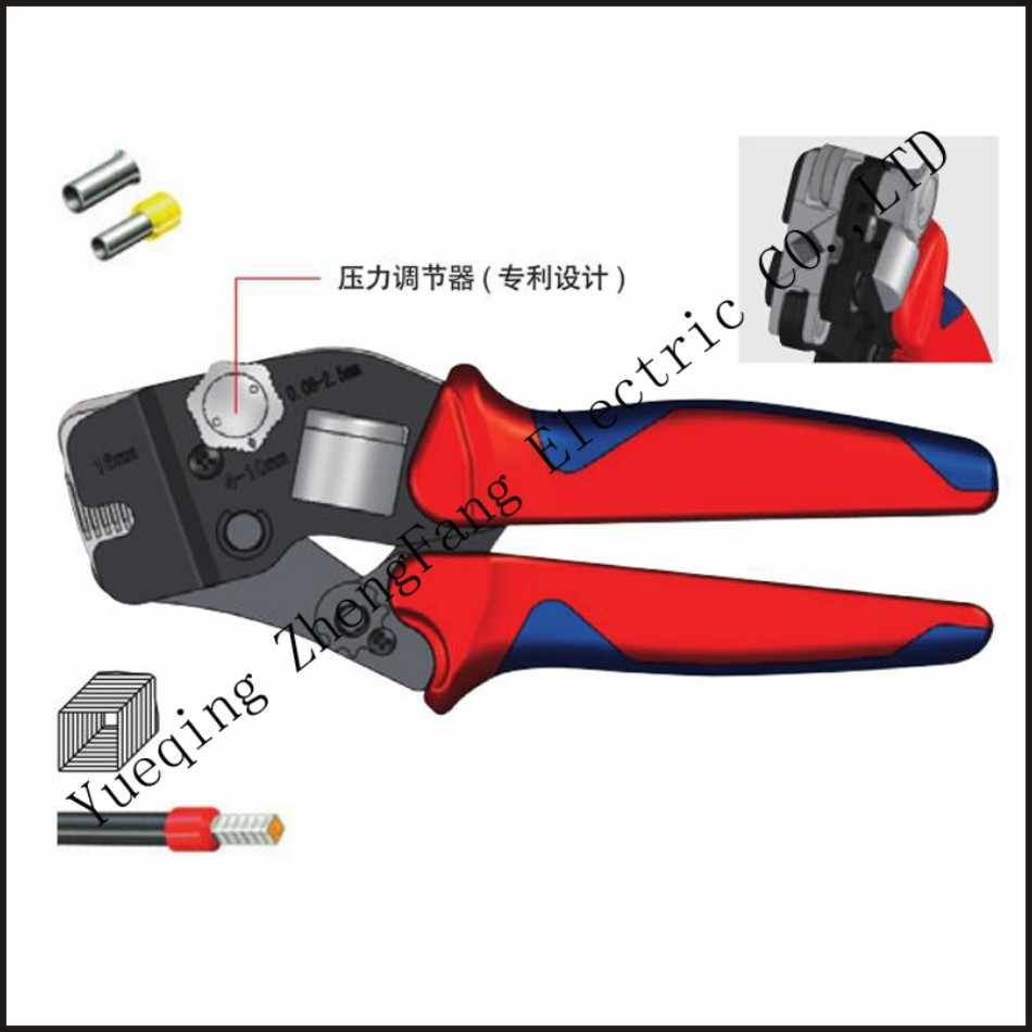 mini-type self-adjustable crimping plier fasen tool Hand tools HSC10 16-4A Special 23-5AWG pipe clamp Tweezers Knife