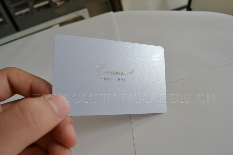Pvc card plastic card with glossy coating and silver hot stamping pvc card plastic card with glossy coating and silver hot stamping and pearl effect business card in garment labels from home garden on aliexpress colourmoves