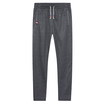 Men Joggers Hip Hop Pencil Feet Pants Elastic Waist Men Skinnly Pencil Pants Men Slim Fit Mens Casual Pants Straight Trousers 2