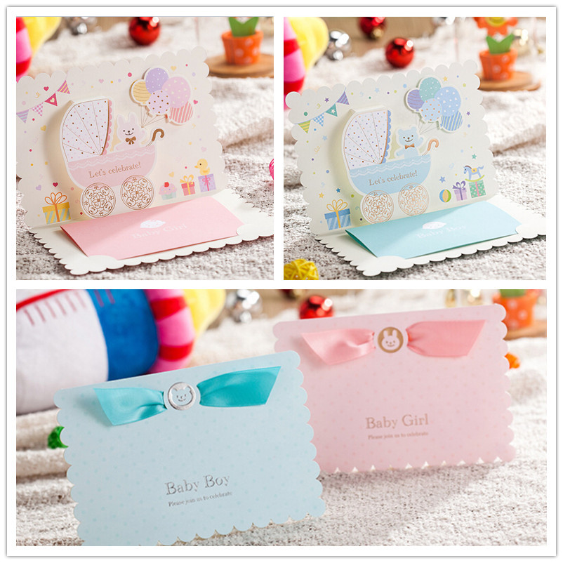 online buy wholesale baby shower invitations card from china baby, Baby shower invitations