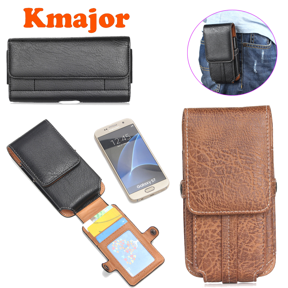 Universal Wallet Phone Cover For <font><b>Iphone</b></font> 5 5C 6 6S 7 8 Plus <font><b>Belt</b></font> Clip Holster PU Leather Pouch <font><b>Case</b></font> For Apple IP X XS <font><b>XR</b></font> MAX Bag image