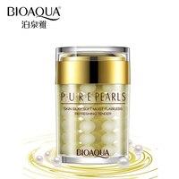 BIOAQUA Face Cream Pure Pearl Essence Hyaluronic Acid Cream Moisturizing Skin Care Anti Aging Wrinkle Whitening