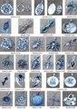 Mw-19 atacado Nepal Handmade 925 prata encantos do vintage, Tibetano budista amuleto pingentes, 20 pcs lot, Navio livre