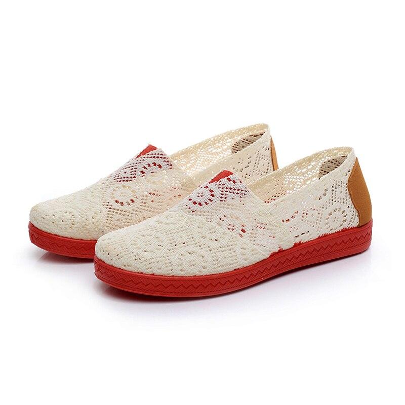Peking Baumwolle Stoff Schuhe Baotou Hause Aus Weichen Stil Wohnungen Frauen Weiche Tragen Modische Kühle Flache Schuhe Größe 35- 45