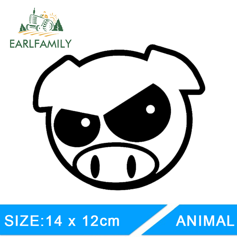 Evil Pig Crown JDM Rally Vinyl Sticker Decal Drift Race Choose Size /& Color