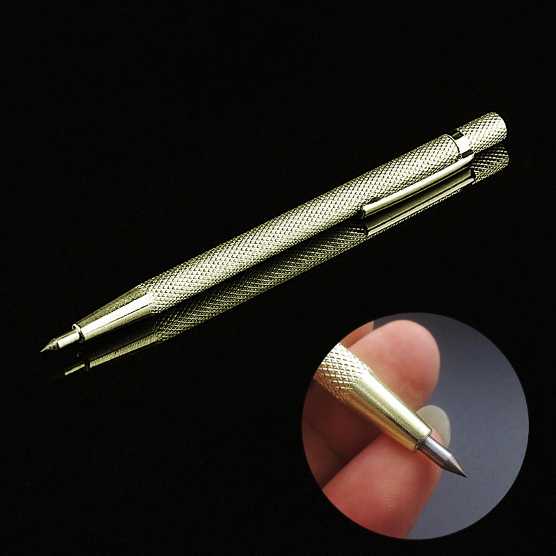 Tungsten Steel Tip Scriber Pen Marking Engraving Tools Metal Shell Lettering