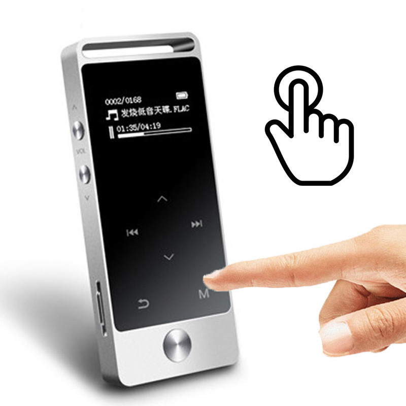 BENJIE S5 Touch Screen MP3 Player 8GB BENJIE S5 Metal APE/FLAC/WAV High Sound Quality Entry-level Lossless Music Player with FM