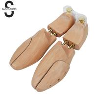 Shoe Tree Wood Shoe Stretcher High Quality Solid Pine Wood Adjustable Shoe Shaper Shoe Tree Stretcher LDD0440