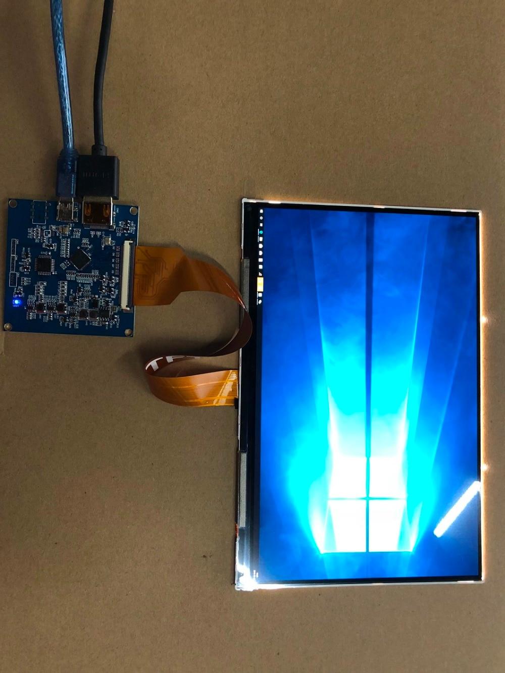 Light curing 8.9 inch LCD screen + driver board HDMI port kit TFTMD089030 HDMI to MIPI 3 5 inch lcd driver board lq035nc111 lcd screen