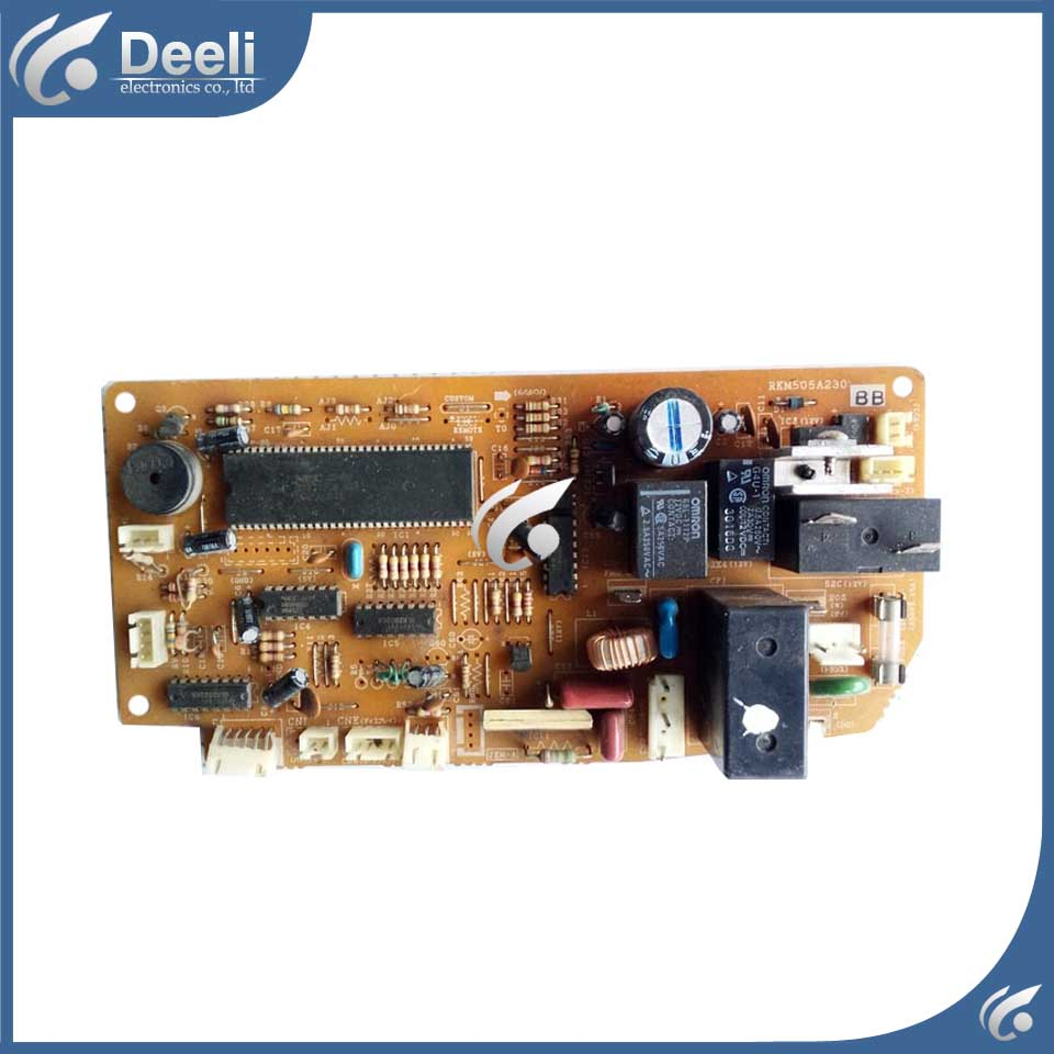 Air conditioning computer board RKM505A230BB RKM505A230 CD/AC/BB/AD used board good working air conditioning computer board juk7 820 197 ver1 0 12 25 2002 used disassemble