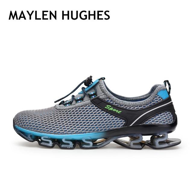 14b1ca9bb5970 Ürün Açıklaması. Bir başlama için, bir 2018 Sıcak satış Erkekler koşu  ayakkabıları kadın sneakers yaz açık spor ayakkabılar ...
