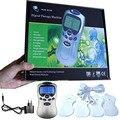 110 - 220 В жк-синий screenTens / акупунктура / цифровая терапия машина массажер электронный импульс мини-массажер медицинского оборудования