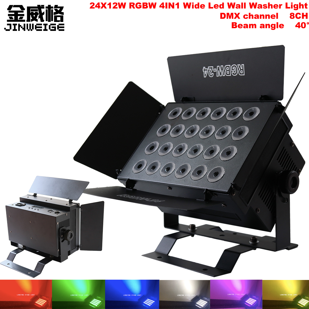 Led Wall China Us 189 5 Free Shipping China 320w 24x12w Rgbw 4in1 Led Wall Washer Light City High Building Washer Indoor Bar Dmx Stage Lights In Stage Lighting