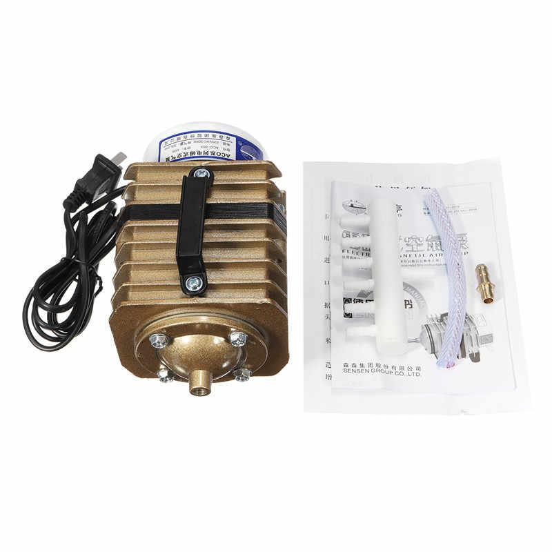 20 W/35 W/45 W נמוך במיוחד רעש אקווריום אלקטרומגנטית משאבת אוויר דגי טנק מיני מדחס אוויר חמצן משאבת עם מתאם