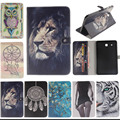 Colorful Magnetic PU Leather Case Cover For Samsung Galaxy Tab E 9.6 T560 SM-T560 T561 Tablet Stand with Card Holder Y4D33D