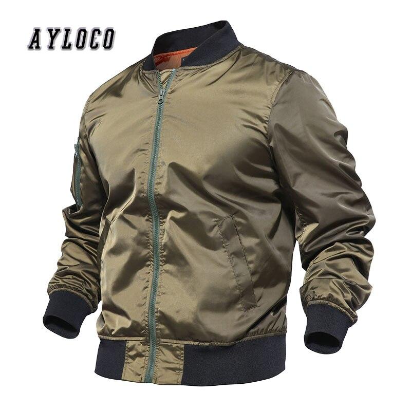Hommes automne Bomber veste tactique mince veste militaire armée pilote Air Force veste hommes imperméable coupe-vent chasse vêtements