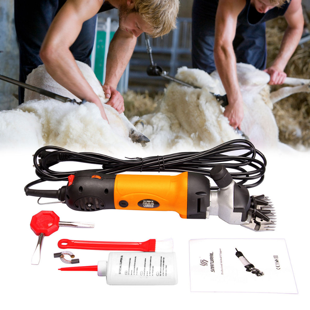 (Ship from USA) 380W Farm Supplies Sheep Shears Goat Clippers Animal Livestock Shave Grooming CE eastern livestock 5ml