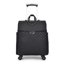 Универсальная Дорожная сумка на колесиках, сумка на колесиках для девушек и женщин, модная сумка на колесиках