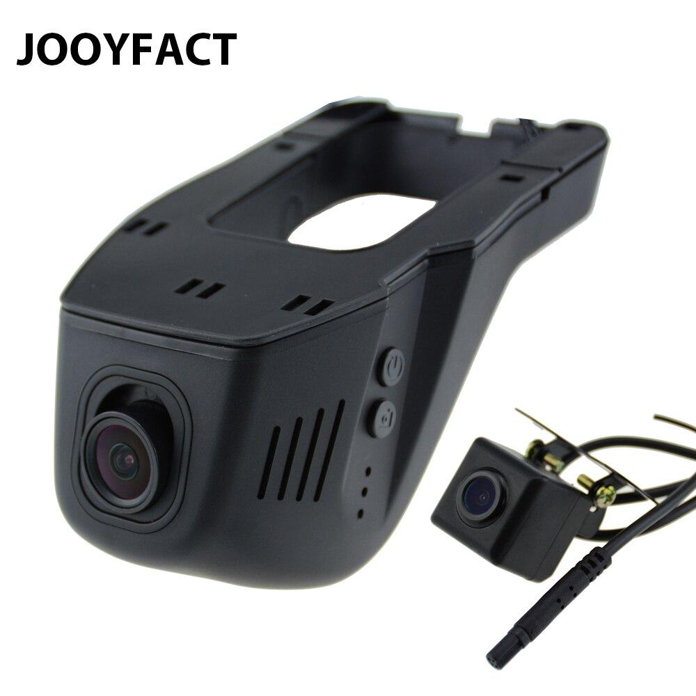 JOOYFACT A5 Auto DVR Registrator Dash Camma Della Macchina Fotografica Digital Video Recorder Obiettivo Doppio di Visione Notturna Videocamera 96658 IMX323 WiFi