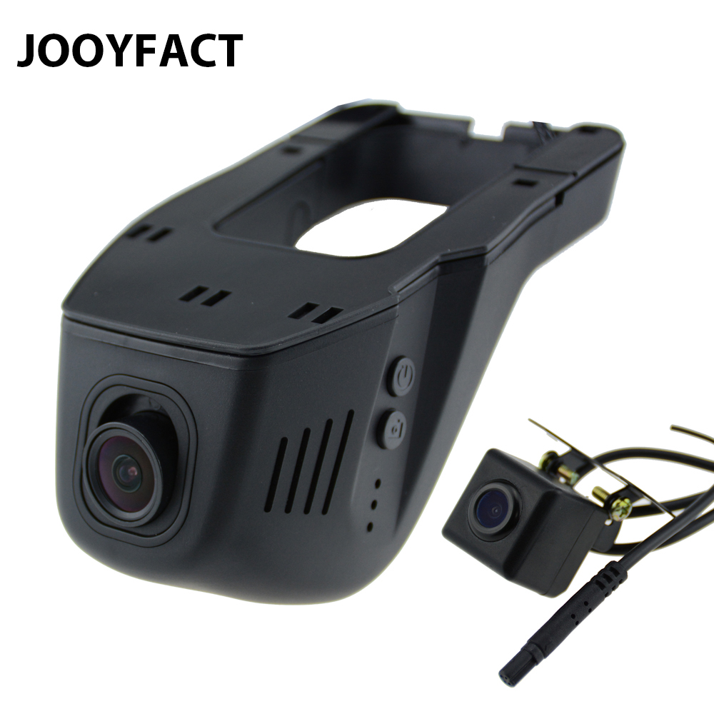 JOOYFACT A5 Car DVR DVRs Registrator Dash Cam Camera Digital Video Recorder Dual Lens Night Vision Camcorder 96658 IMX 323 WiFi bigbigroad for peugeot 3008 app control car wifi dvr dual camera video recorder night vision car black box wdr car dash camera