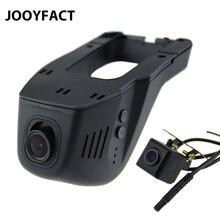 JOOYFACT A5 Voiture DVR Dvr Registrator Dash Cam Caméra Numérique vidéo Enregistreur Double Objectif de Vision Nocturne Caméscope 96658 IMX 323 WiFi