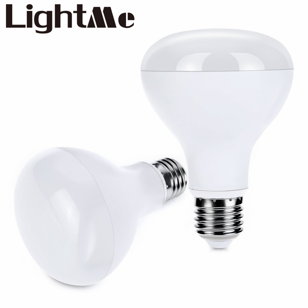High Cooling Efficiency Low Consumption And No Radiation Lightme 2pcs E27 R80 9W LED Bulb Light Energy Efficient Lighting household energy consumption in india and eastern himalayas
