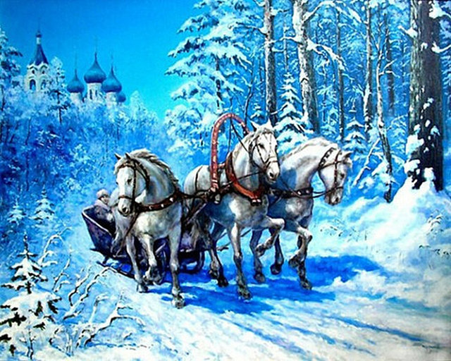 peinture chevaux wallpaper - photo #26