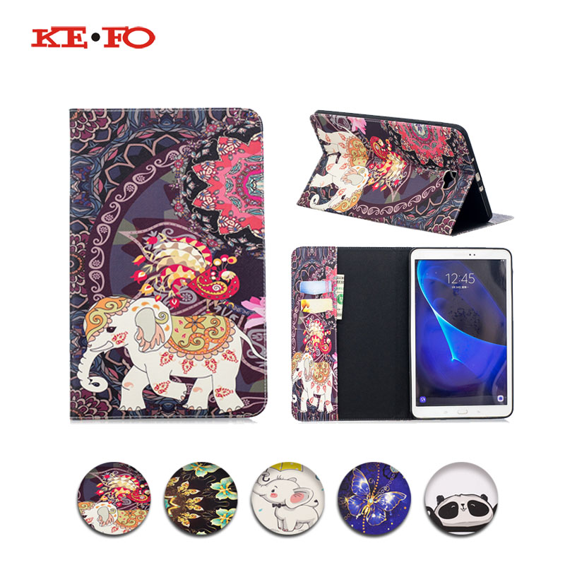 Cover For Samsung Galaxy Tab A 10.1 2016 T580 T585 SM-T585 Flip PU Leather Tablet Case For Samsung tab a 10.1 2016 Cases