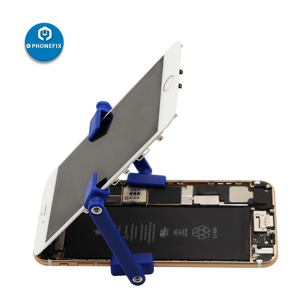 Plastic Clip Clamp Adjustable Fixture Holder For IPhone Samsung Huawei LCD Screen Repair Mobile Phone Disassemble Repair Tool