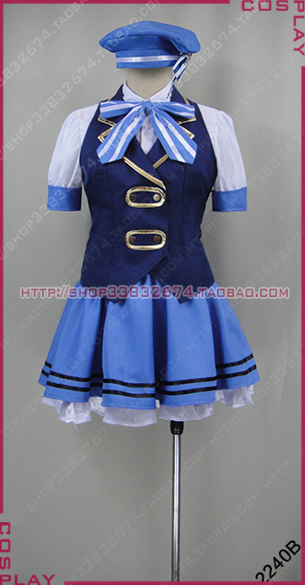 Is the order a rabbit Kafuu Chino cosplay costume customize any size