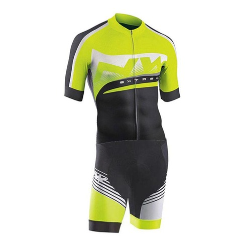 Men Pro NW Team Triathlon Suit Cycling Clothing Skinsuit Jumpsuit Maillot Cycling Jersey Ropa Ciclismo Bike Sports Clothing Multan